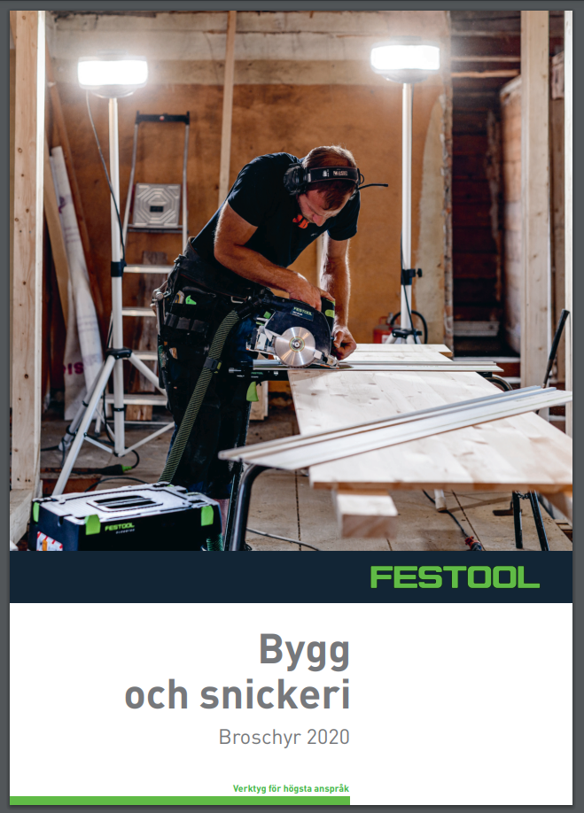 Festool broschyr framsida