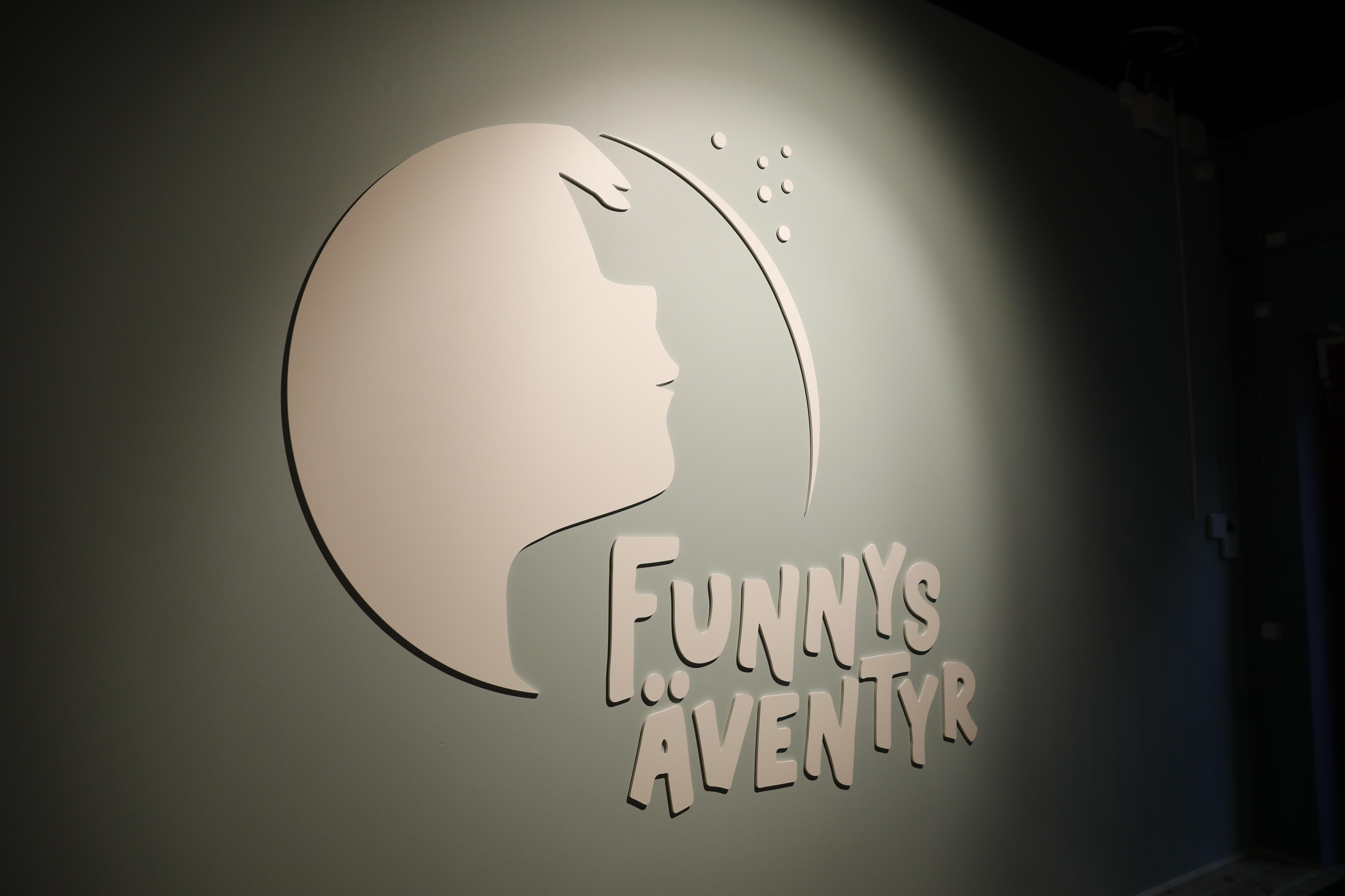 Logotyp med djup funnys äventyr